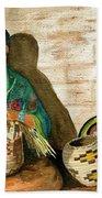 Hopi Basket Weaver Beach Sheet