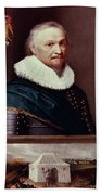 Horace Vere (1565-1635) Beach Towel