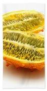 Horned Melon Beach Towel