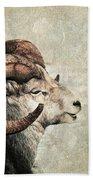 Horned Beach Towel by Priska Wettstein
