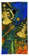 Horns And Other Things Beach Towel
