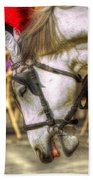 Horse In Cracow Beach Towel