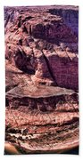 Horsehoe Bend On The Colorado River Beach Towel