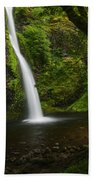 Horsetail Falls Columbia River Gorge Beach Towel