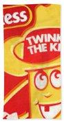 Hostess Twinkie The Kid Beach Towel by Tony Rubino
