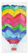 Hot Air Balloon 02 Beach Towel