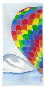 Hot Air Balloon 04 Beach Towel