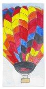 Hot Air Balloon 05 Beach Towel