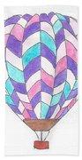 Hot Air Balloon 06 Beach Towel