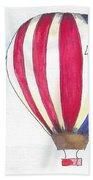 Hot Air Balloon 07 Beach Towel
