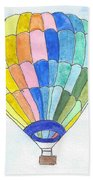 Hot Air Balloon 08 Beach Towel