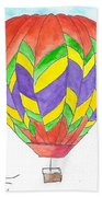Hot Air Balloon 10 Beach Towel