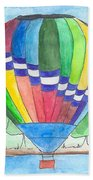 Hot Air Balloon 11 Beach Towel