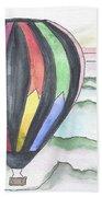 Hot Air Balloon 12 Beach Towel