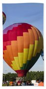 Hot Air Balloon Festival In Decatur Alabama  Beach Towel