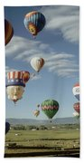 Hot Air Balloon Beach Towel
