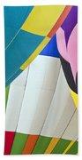 Hot Air Balloon Beach Sheet
