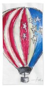 Hot Air Balloon Misc 01 Beach Towel
