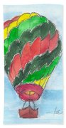 Hot Air Balloon Misc 03 Beach Towel