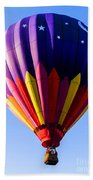 Hot Air Ballooning In Vermont Beach Towel