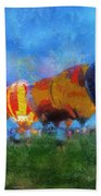 Hot Air Balloons Photo Art 01 Beach Towel