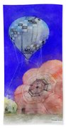 Hot Air Balloons Photo Art 03 Beach Towel