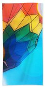 Hot Air Bokeh Beach Towel
