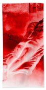Hot-blooded Hottie On A Sexual Journey Beach Towel