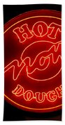 Hot Now Krispy Kreme Beach Towel