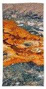Hot Springs Mineral Flow Beach Towel