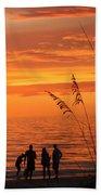 Hot Sunset Beach Towel