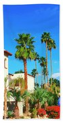 Hotel California Palm Springs Beach Towel