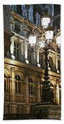 Hotel De Ville In Paris Beach Towel