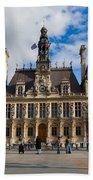 Hotel De Ville The Paris City Hall Beach Towel