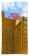 Hotel Floridan Beach Towel