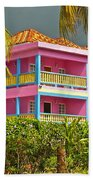 Hotel Jamaica Beach Towel by Linda Bianic