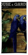 House And Garden Furniture Number Cover Beach Towel