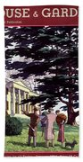 House And Garden Houses For All Tastes Cover Beach Towel