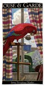 House And Garden Spring Furnishing Number Cover Beach Towel