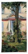 House At Rueil Beach Towel