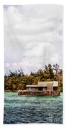 House Boat Beach Towel