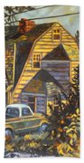 House In Christiansburg Beach Towel