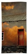 House In The Clouds Beach Towel