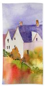House In The Country Beach Towel