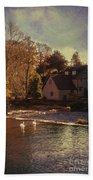House On The River Beach Towel