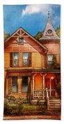 House - Victorian - The Wayward Inn Beach Towel