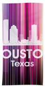 Houston Tx 2 Beach Towel