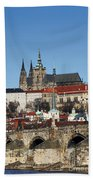 Hradcany - Prague Castle Beach Towel