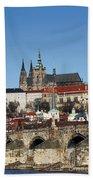 Hradcany - Prague Castle Beach Towel