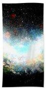 Hubble Birth Of A Galaxy Beach Towel